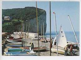 Saint Pierre En Port (76) Le Front De Mer Et La Falaise (le Goubey Cp Vierge)) - Frankreich