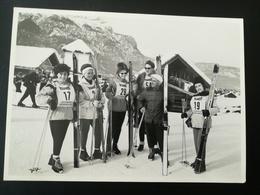 """80 PHOTOS ORIGINALES NOIR-BLANC DONT  TOURISTES À ÉCOLE DE SKI GARMISCH ALLEMAGNE ENSEIGNE """"PUSSYCAT"""" SWOLFSTRAAT - Albums & Collections"""