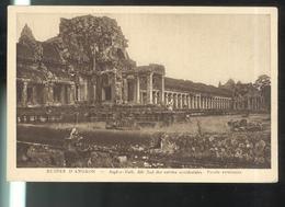 CPA Angkor - Aile Sud Des Entrées Occidentales - Non Circulée - Cambodge