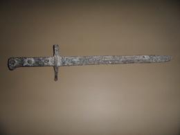 Epave De Baionnette A Identifier,ww1,ww2? - Knives/Swords