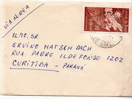 Postal History Cover: Brazil Stamp On Cover - Climate & Meteorology