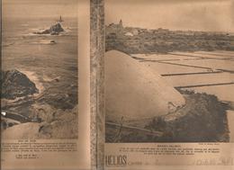 Couverture De Cahier HELIOS , Marais Salants ;  Raz De SEIN(verso), Frais Fr 1.45e - Blotters