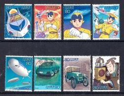 Japan 2004 - Science And Technology And Animation Series 2 - 1989-... Emperador Akihito (Era Heisei)