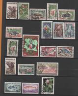 Ivory Coast  19 Used Stamps1959-86 - Ivory Coast (1960-...)