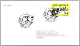 50 Años Del BOMBARDEO DE SAN MARINO - 50 Years Bombing Of San Marino. San Marino 1994 - WW2