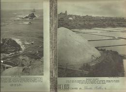 Couverture De Cahier HELIOS , Marais Salants ;  Raz De SEIN(verso), Frais Fr 1.45e - Buvards, Protège-cahiers Illustrés