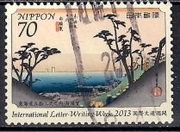 Japan 2013 - International Letter-Writing Week - 1989-... Emperador Akihito (Era Heisei)