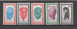 Ivory Coast  J24 To J28 Postage Due Stamps Nine 1st Choice 1962 - Ivory Coast (1960-...)