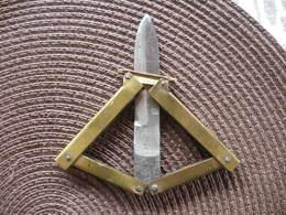 PETIT COUTEAU PANTOGRAPHE WW1 POILU - Armes Blanches