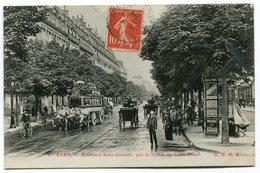 CPA - Carte Postale - France - Paris - Boulevard Saint Germain - 1920 (C8600) - Arrondissement: 06