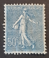 1922 Sower, France, Empire Française, *,**, Or Used - 1903-60 Sower - Ligned