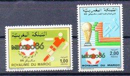 MAROC  Timbres Neufs ** De 1986   ( Ref 6428 ) Sport -football - Morocco (1956-...)