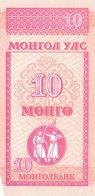 10 Mongo Mongolei 1993 - Mongolei