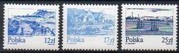 Polen 1982  MiNr. 2833/ 2835  **/ Mnh ;  Freimarken: Die Weichsel - 1944-.... Republic