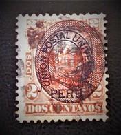 SURCHARGE 1882 - OBLITERE - YT 50 - Peru