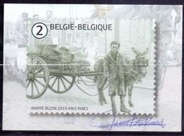 Belgie - 2019 - OBP - 5 Max. Kaarten - ** Andre Buzin - Kris Maes ** Uitgifte Bpost - Maximum Cards