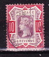 Gran Bretagna 1887 Victoria 10 P.-usato - Used Stamps
