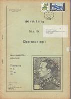 POORTMANZEGEL        3 JAARGANG   NR 2    +     NR 3       1989//1990 - Philatelie Und Postgeschichte