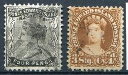 CANADA - ILE DU PRINCE EDOUARD - N° 7 & 10 - OBL. - B - Ile Du Prince-Édouard