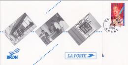SOUVENIR PHILATELIQUE/  3.05.1996 / INAUGURATION DU BUREAU DE POSTE DE BRON/ TP N° 3000A MADAME DE SEVIGNE/ BRON 69 - Correo Postal