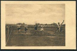 Hungary 1912 100 Yard Record Jankovich István Athletics Postcard. Hungarian Athletics Championships. 1912 Olympics - Athletics