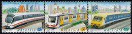 Malaysia - 1998 - Modernization Of Rail Transport - Mint Stamp Set - Malaysia (1964-...)