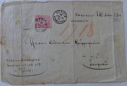 Couverture D'enveloppe De 1858 - Postmark Collection