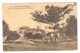CPA NOUVELLES HEBRISES (Nouvelle Calédonie) - VANUATU - Ile Vaté - Mission Catholique De Montmartre - Animation - Vanuatu