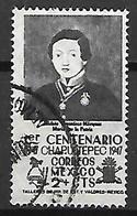 MEXIQUE   -    1er Centenario  Chapultepec ,   Oblitéré  . - Mexico
