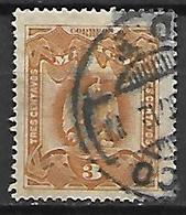 MEXIQUE   -    1899 .  Y&T N° 182  Oblitéré.   Aigle - Mexico