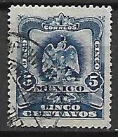 MEXIQUE   -    1899 .  Y&T N° 183  Oblitéré.   Aigle - Mexique