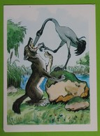 14153 The Wolf And The Crane. The Fable By Ivan Krylov - Fairy Tales, Popular Stories & Legends