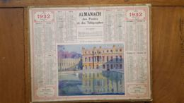 CALENDRIER ALMANACH DES POSTES 1932 DEPARTEMENT DE LA LOZERE - Calendars