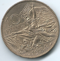 France - 1984 - 10 Francs - 200th Anniversary Of François Rude - KM954 - Francia
