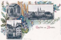 268849Gruss Aus Basel 1899 (8125) - BS Bâle-Ville