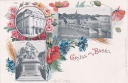 268850Gruss Aus Basel 1899 (8126) - BS Bâle-Ville