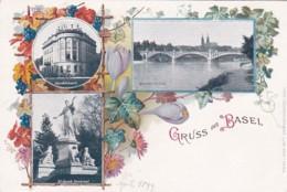 268851Gruss Aus Basel 1899 (8127) - BS Bâle-Ville
