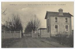CPA 38 Isère La Tronche Rare Entrée Du Sanatorium Conciergerie Près De Grenoble Meylan Corenc Montbonnot Biviers Gieres - France