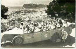 MONACO CARTE PHOTO CAR D'EXCURSION DE NICE - Monaco
