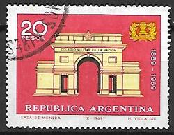 ARGENTINE    -    1969 .  Collège Militaire De La Nation ,  Oblitéré. - Argentine