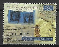 ARGENTINE    -   1998 .  Anniversario Del Correo Fijo ,  Oblitéré. - Argentine