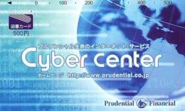 Carte Prépayée Japon  ESPACE (861)  GLOBE * SATELLITE * TERRESTRE * MAPPEMONDE * Telefonkarte Phonecard JAPAN * - Espace