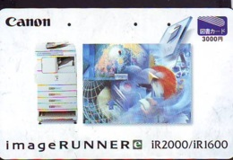 Carte Prépayée Japon  ESPACE (879)  GLOBE * SATELLITE * TERRESTRE * MAPPEMONDE * Telefonkarte Phonecard JAPAN * - Espace