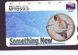 Carte Prépayée Japon  ESPACE (862)  GLOBE * SATELLITE * TERRESTRE * MAPPEMONDE * Telefonkarte Phonecard JAPAN * - Espace