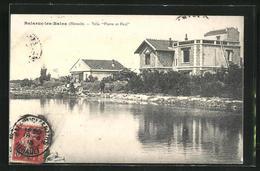 CPA Balaruc-les-Bains, Villa Pierre Et Paul - Francia