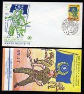 South Korea 1973 And 1981 Fdc,s 1 Info Folder. - Corea Del Sur