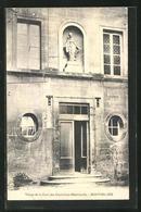 CPA Montpellier, Vierge De La Cour Des Orphelines-Misericorde - Montpellier