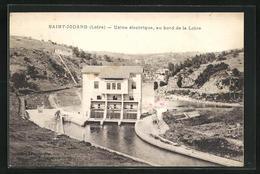 CPA Saint-Jodard, Usine Electrique, Au Bord De La Loire - France
