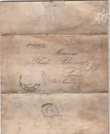 """TRÈS ANCIENNE LETTRE POLOGNE """"STYCZNIA JANVIER 1914 KRAJOWY PARLEMENT ROYAUME DE CALICE """"À VOIR VIEUX DOCUMENT ???? - Machine Stamps (ATM)"""