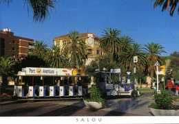 CPM - Le Petit Train De Salou (Espagne) - Eisenbahnen